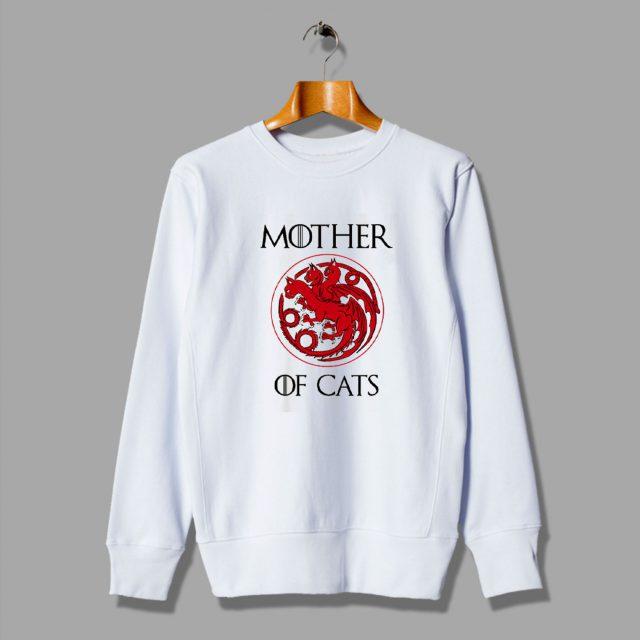 House Stark Thrones Gift Mother Of Cats Urban Sweatshirt