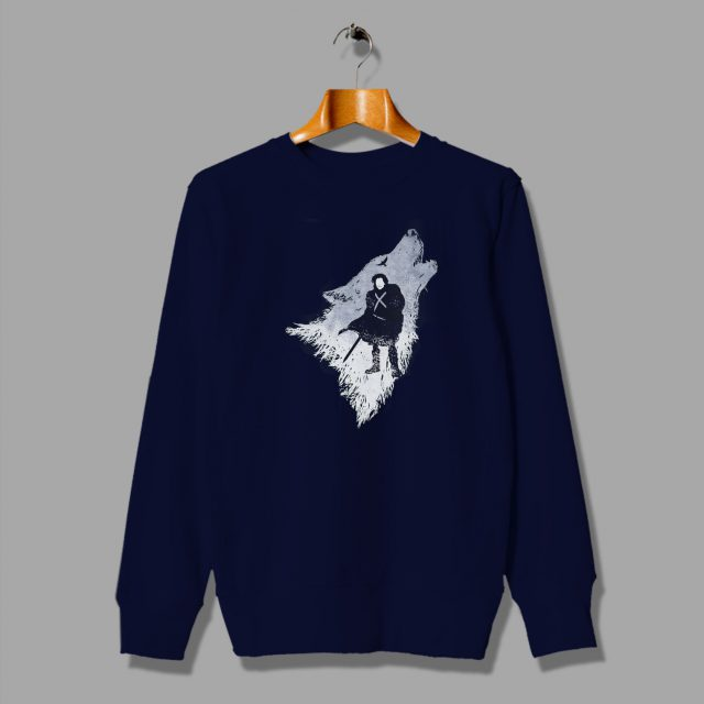 Jon Snow Direwolf Game Of Thrones Urban Sweatshirt