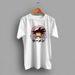 Songoku Saiyan Ramen Dragon Ball Funny T Shirt