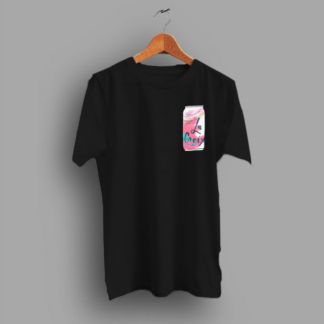 Sparkling Water Pocket Best Friend Gift La Croix T Shirt
