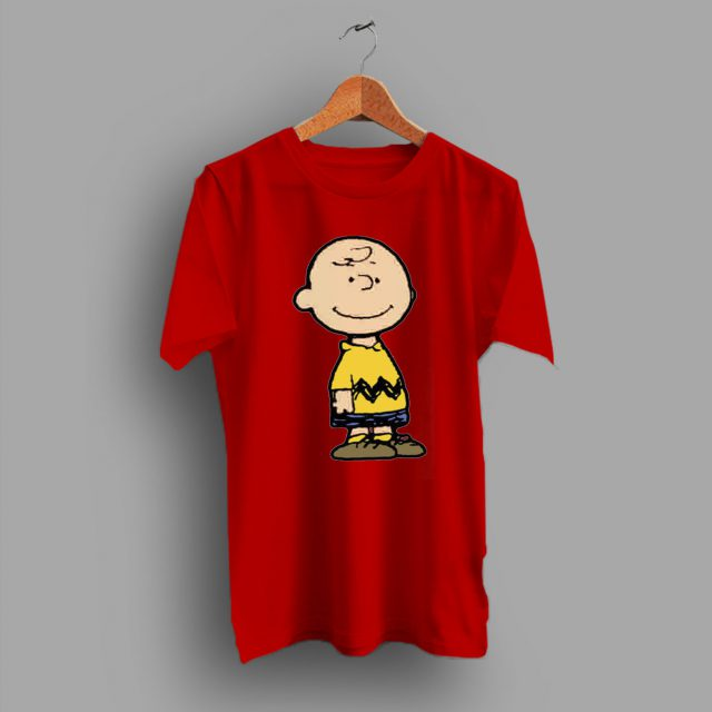 The Lead Role Of Comic Strip Charles Brown Classic T Shirt