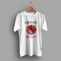 Thrones House Stark Mother Of Cats Urban T Shirt
