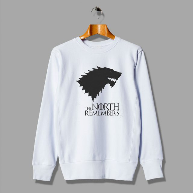 Winter Is Coming Cool Game of Thrones The North Remembers Sweatshirt