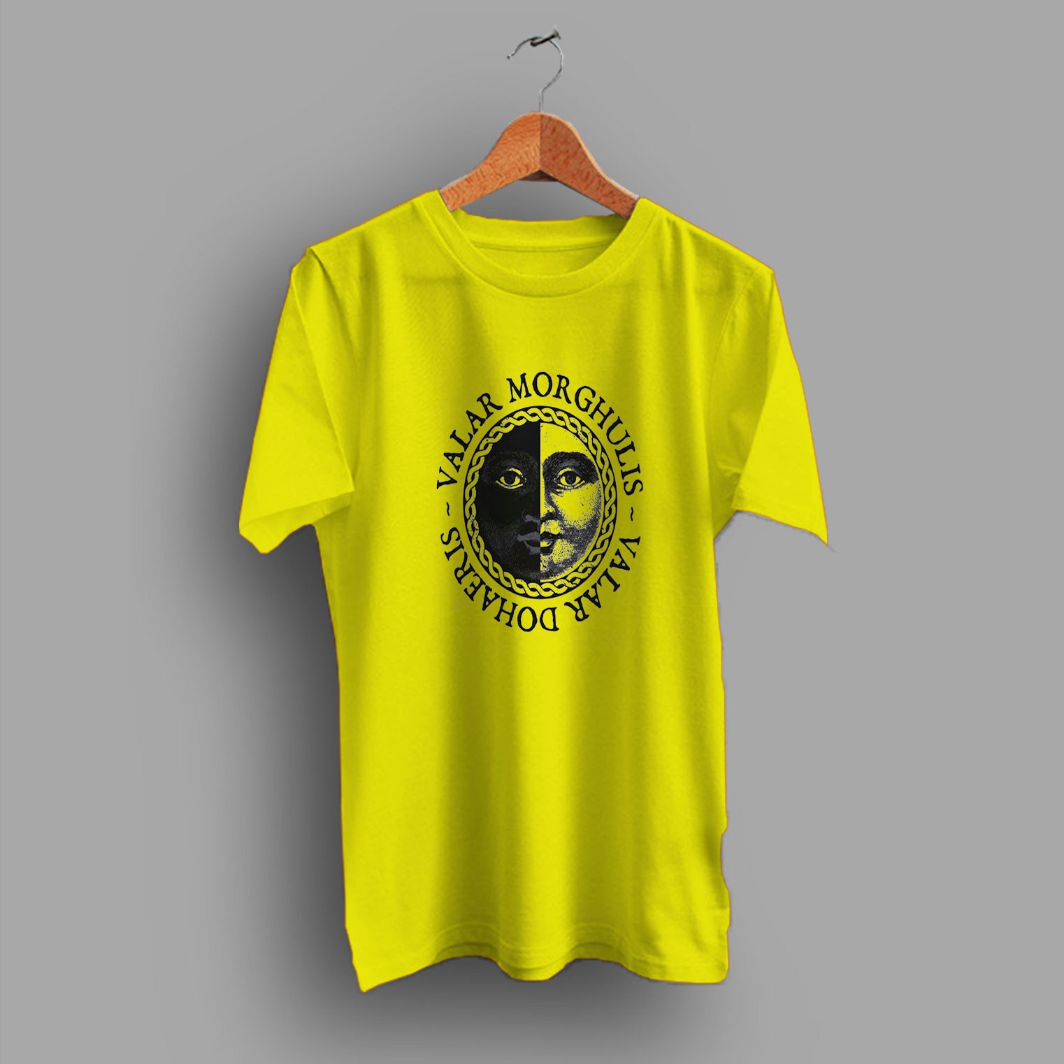 fc544e5b Aria Stark Valar Morghulis Women Movie GOT T Shirt By HotVero.com