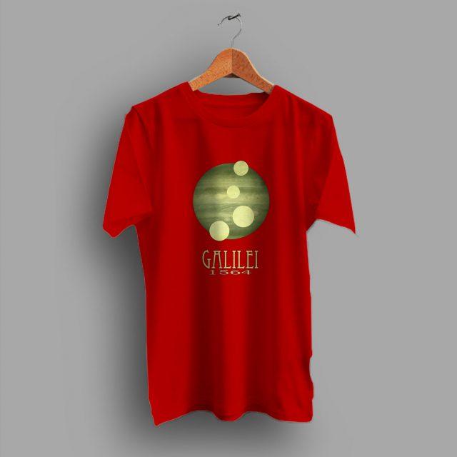 Astronomy Teacher Galileo Science Gift For Geek T Shirt