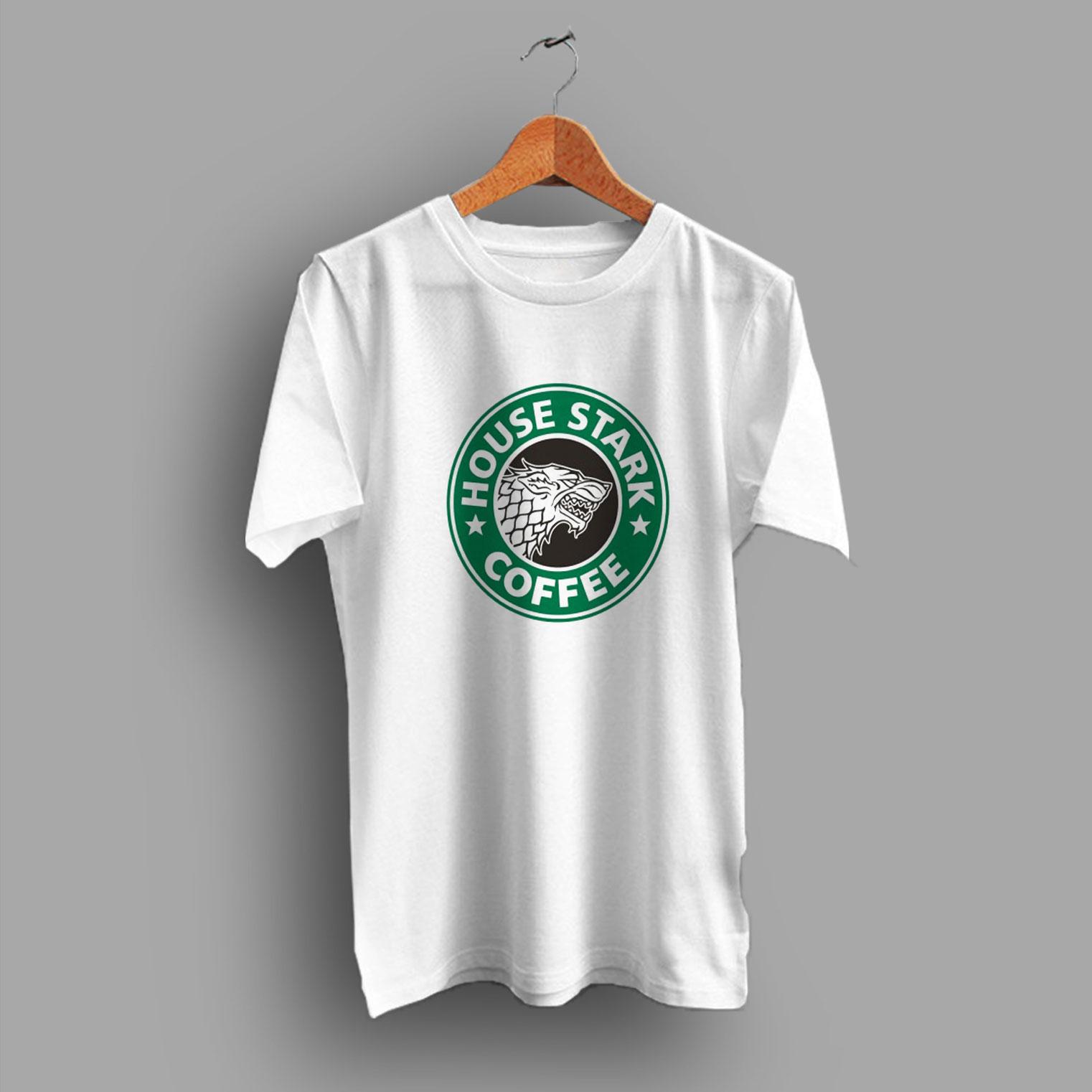 970395ba Buy House Stark Coffee Game Of Thrones Family T Shirt - HotVero