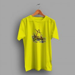Comic Strip Calvin And Hobbes Cute T Shirt