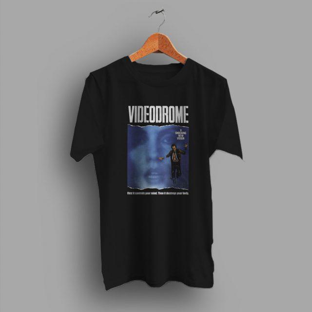 Cult Film 1983 Videodrome Horror Movie T Shirt