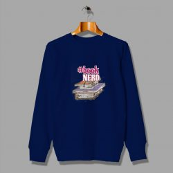 Cute Nerdy Book Nerd Geek Sweatshirt