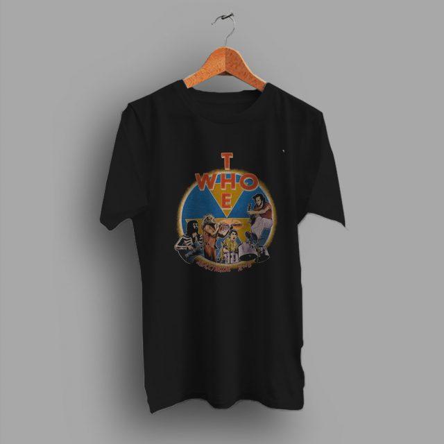 Ensure A Proper Fit The Who Tour Vintage 80s T Shirt