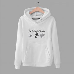 Essential I Am Simple Woman Movie Time Hoodie