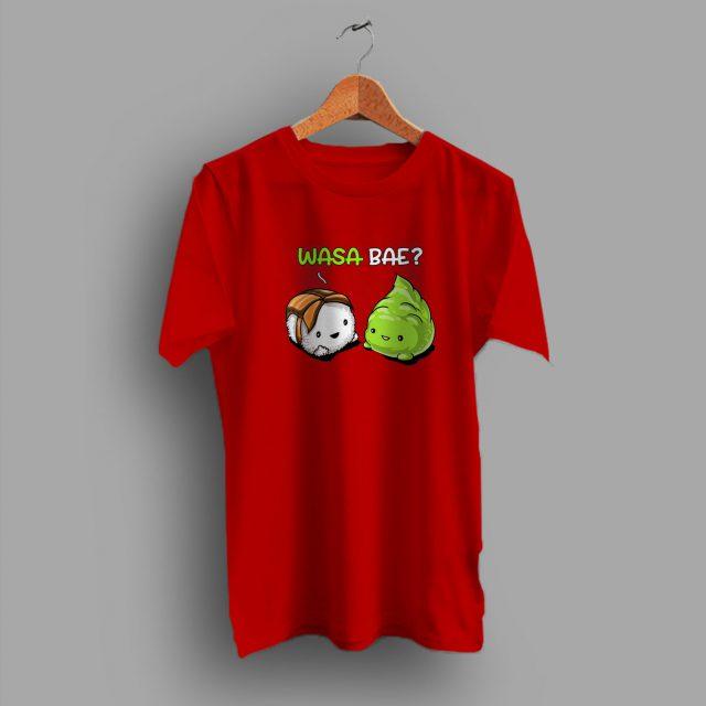 For Girlfriend Cartoon Wasabi Couple Funny T Shirt