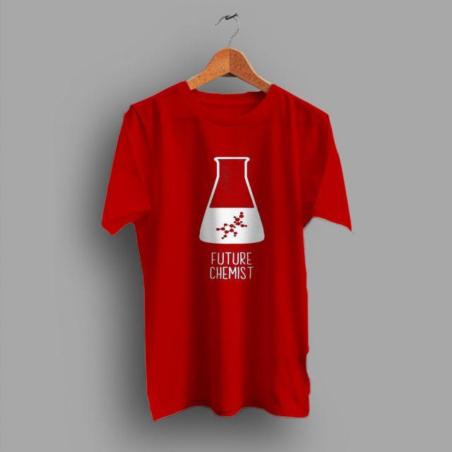 Glass Beaker Future Genius Science Gift Geek T Shirt
