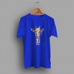 Graphic Animal Print Giraffe Funny T Shirt