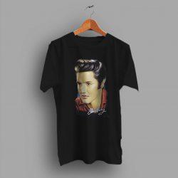 Graphic Music Retro Elvis Presley Punk T Shirt