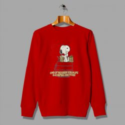 Great Cartoon Peanuts Snoopy Graphic 80s Vintage Sweatshirt