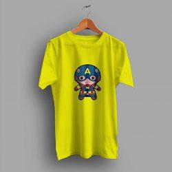 Inspire Item Recheck Captain America Japanese Funny T Shirt