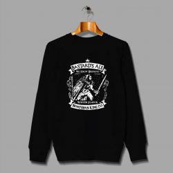 Jon Snow Game of Thrones Bastards Ale Sweatshirt