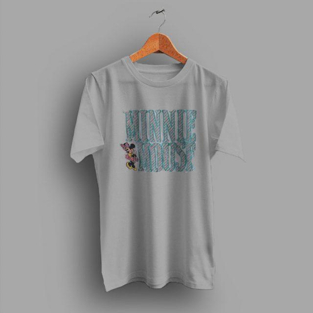 Line Vintage Condition Minnie Mouse 80s T Shirt