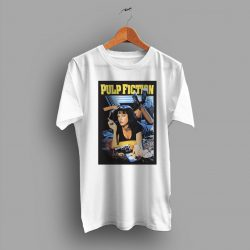 Mia Wallace Character Pulp Fiction 90s Movie T Shirt