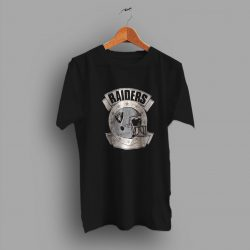 Perfectly Raiders Helmet Single Stitch 80s T Shirt
