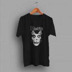 Represent Rock Kitties With Misfits Punk T Shirt