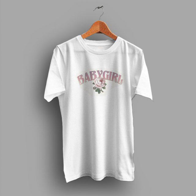 Rose Ringer 90s Grunge BabyGirl Vintage T Shirt