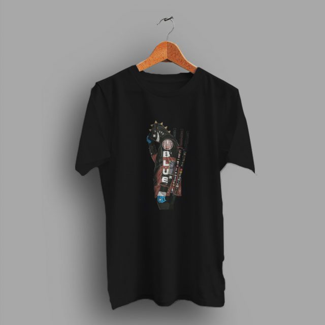 Samurai Hypebeast Ninja Blue Naruto Urban T Shirt