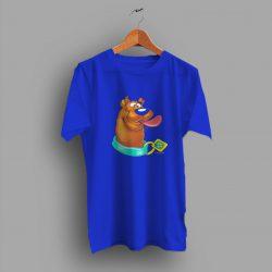Scooby Doo Big Print Graphic Cute T Shirt