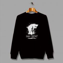 Slogan Arya Stark Game Of Thrones Sweatshirt