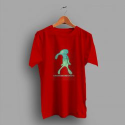 Squidward Painting Handsome And Brave Cute T Shirt