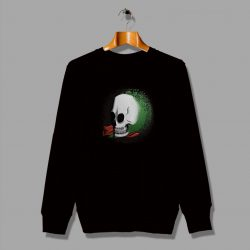 This Is An Aggressive Right Likes Skull Sweatshirt
