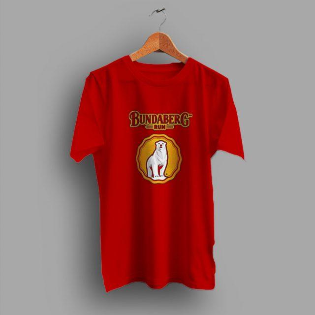 Aesthetic Bundaberg Rum Bear Beer T Shirt