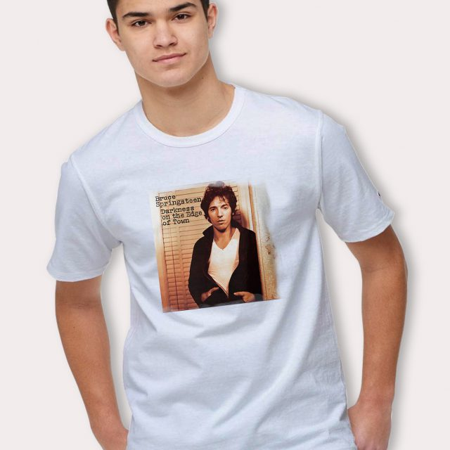 Bruce Springsteen T Shirt Darkness On The Edge Of Town