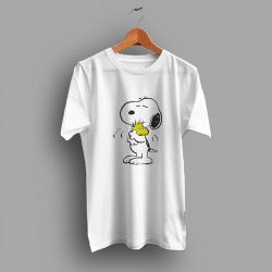 Cartoon Happy Cute Snoopy Funny T Shirt