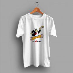 Cute J.Wellington Wimpy Air Jordan Parody T Shirt