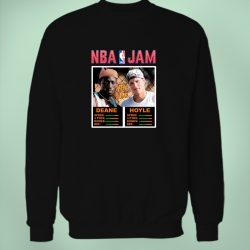 Deane And Hoyle NBA Jam Sweatshirt
