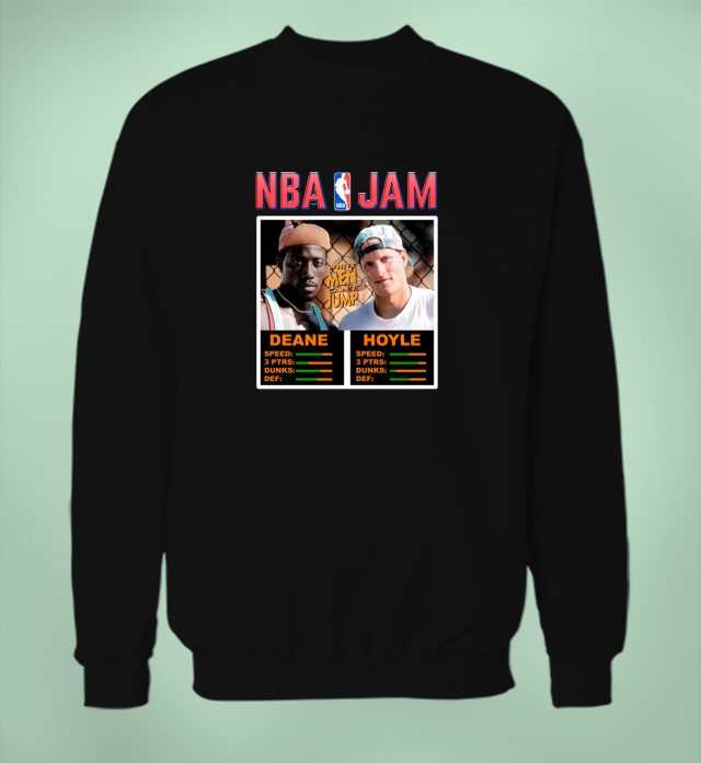 Deane And Hoyle NBA Jam Sweatshirt