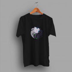Dragons Furious Yin Yang Cute T Shirt