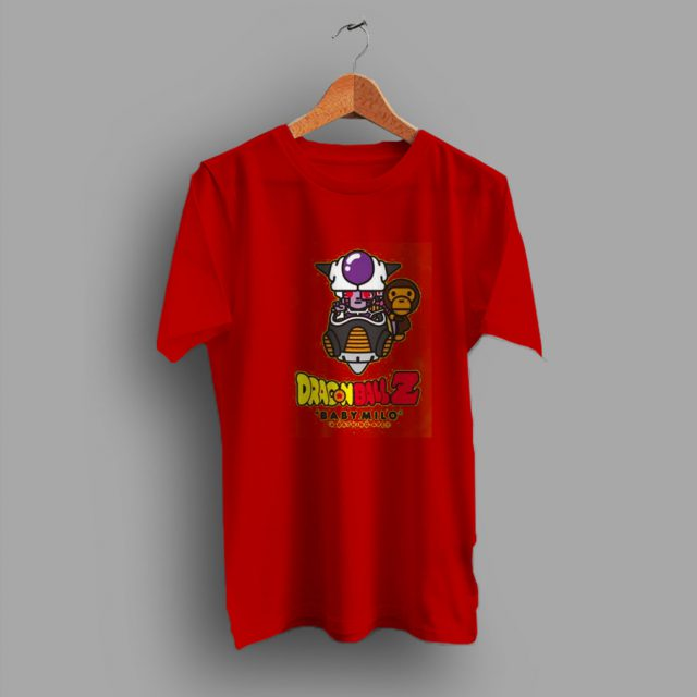 Frieza Dragon Ball x Baby Milo Cute T Shirt