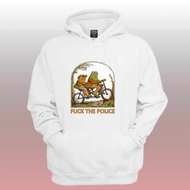 Frog And Toad Anti Police Unisex Hoodie