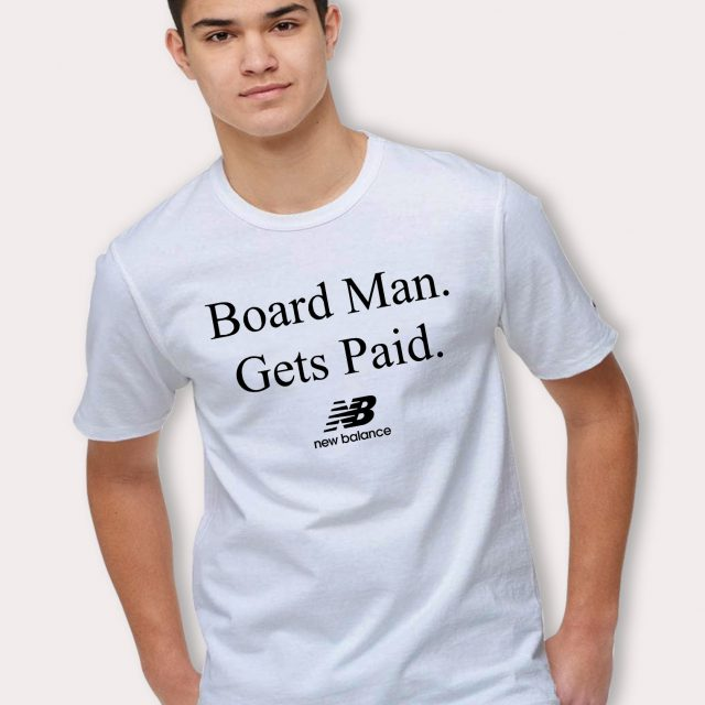 Kawhi Leonard Board Man Gets Paid NB T Shirt