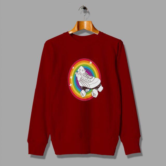Vintage Roller Skate 80s Sweatshirt