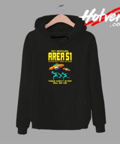 1st Annual Area 51 Fun Run Hoodie
