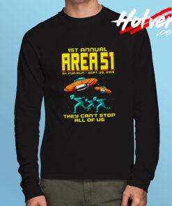 1st Annual Area 51 Fun Run Long Sleeve Shirt
