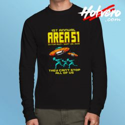 1st Annual Area 51 Fun Run Long Sleeve Shirt
