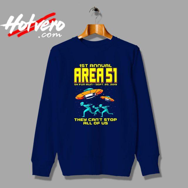 1st Annual Area 51 Fun Run Sweatshirt