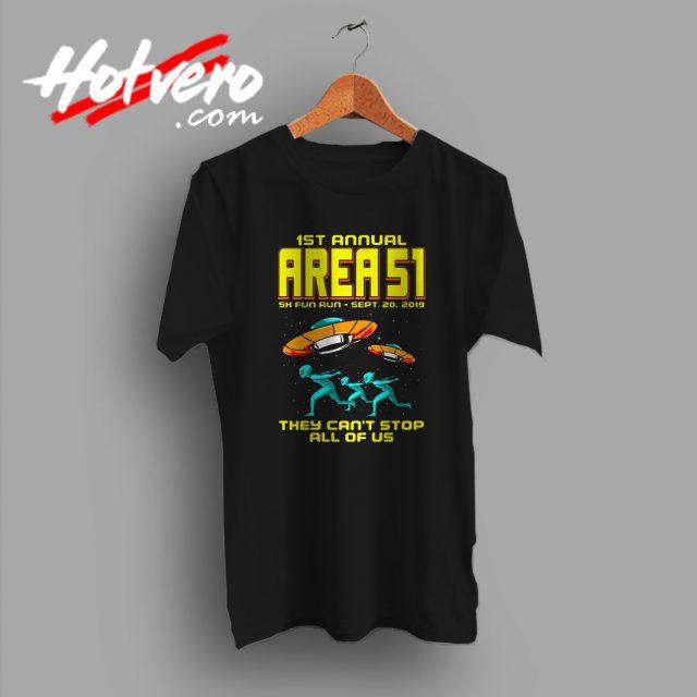 1st Annual Area 51 Fun Run T Shirt