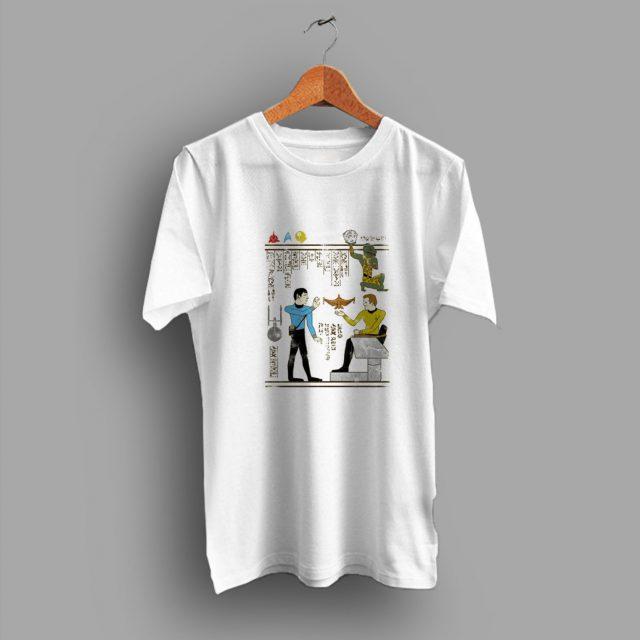 Ancient Times Hero Glyphics Prime Directive Geek T Shirt