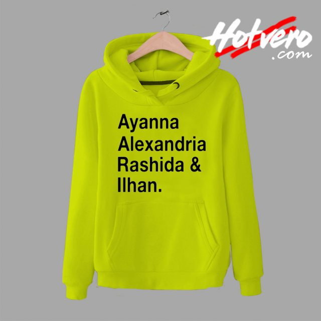 Ayanna Alexandria Rashida and Ilhan Hoodie